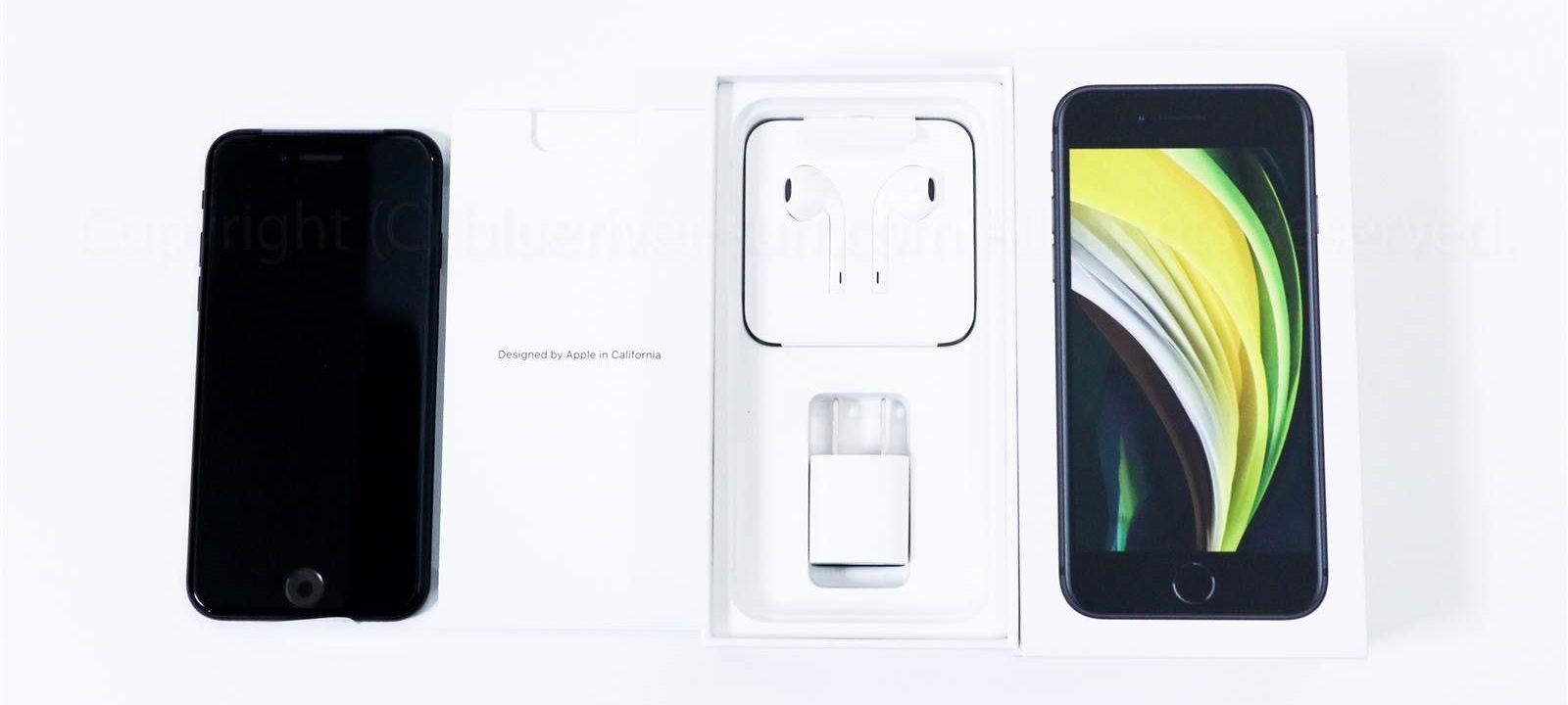 iPhone SE(2020)付属品レビュー02