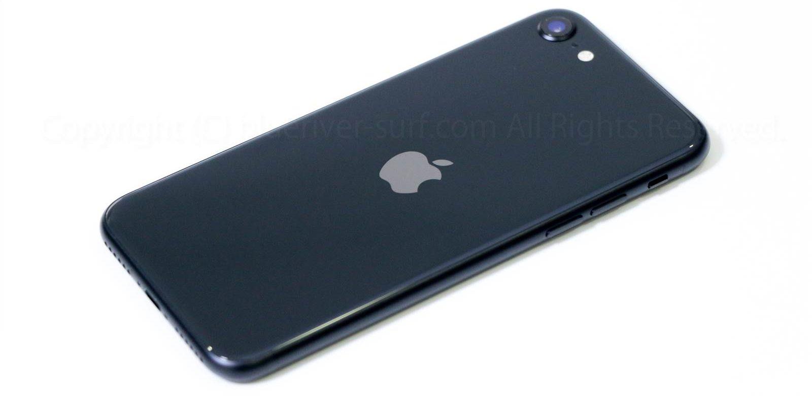 iPhone SE(2020)外観レビュー03
