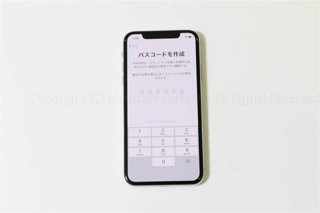 iPhone XS初期設定・データ移行13