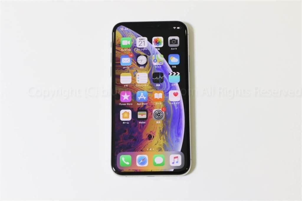 iPhone XSホーム画面