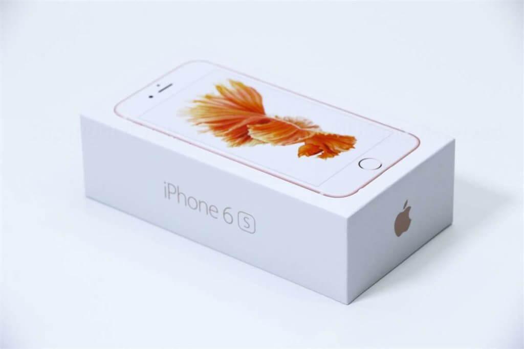 iPhone 6s パッケージ02