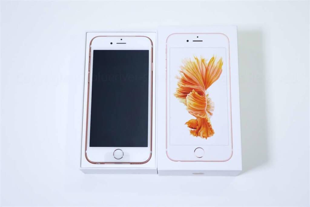 iPhone 6s 開封レビュー01