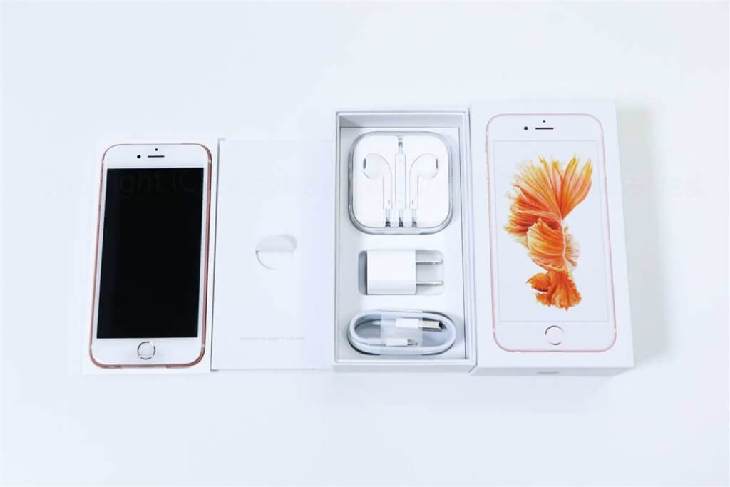 iPhone 6s 開封レビュー02