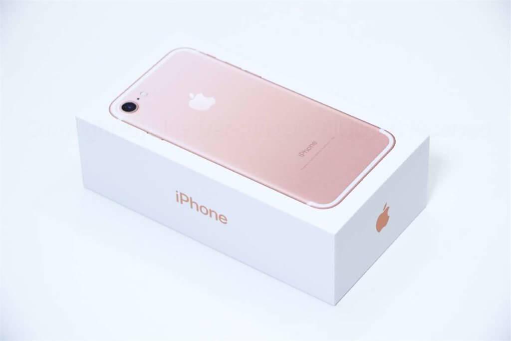 iPhone 7 パッケージ01