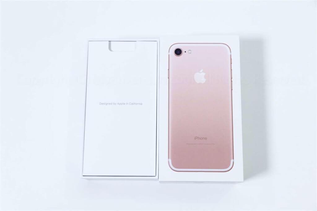 iPhone 7 パッケージ02