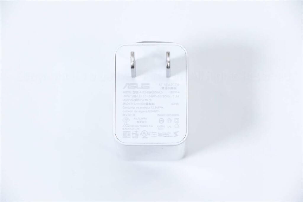 ZenFone MAX Pro M1充電器出力