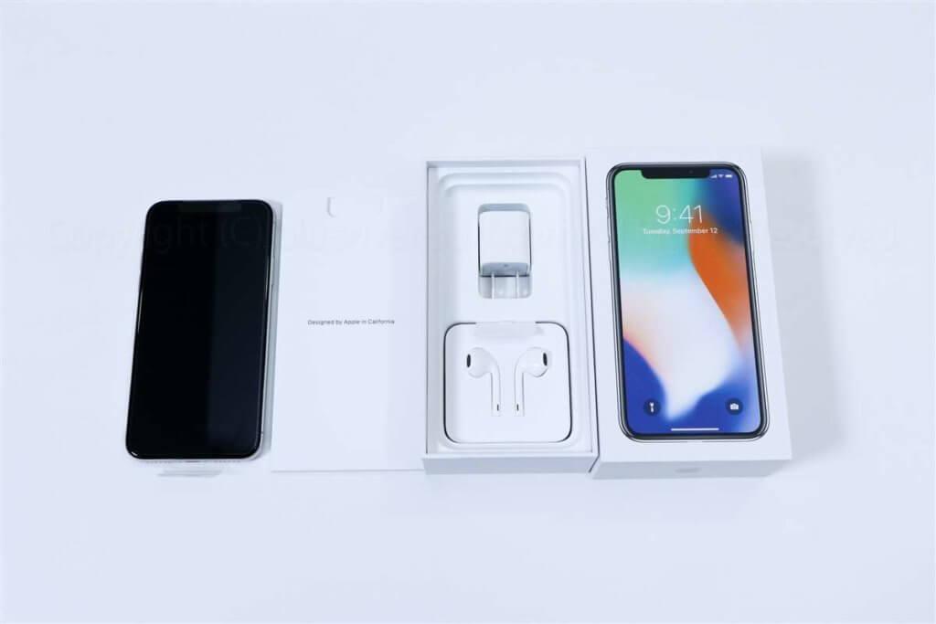 iPhone X付属品一覧