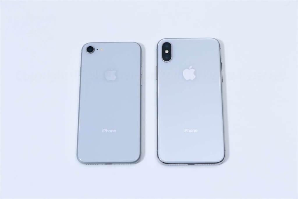 iPhone X & iPhone 8 比較01