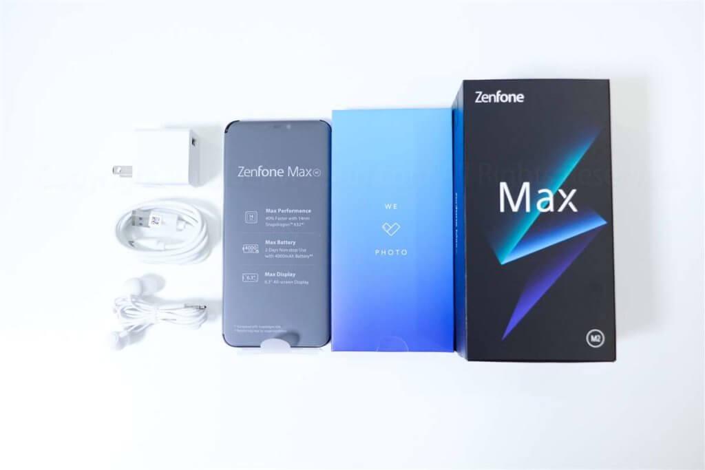 ZenFone Max M2 同梱品01