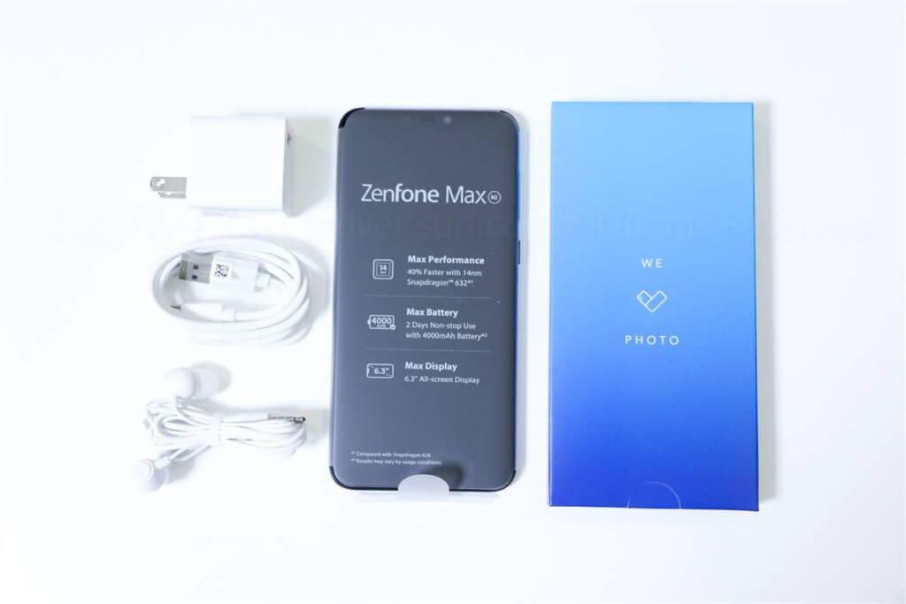 ZenFone Max M2 同梱品02