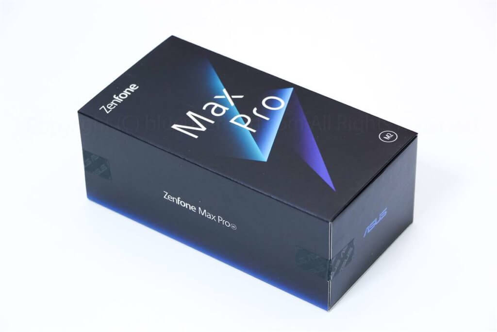 ZenFone Max Pro M2パッケージ02