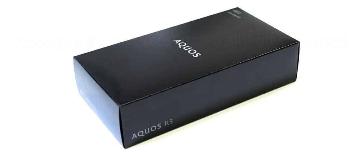 AQUOS R3パッケージ外観02
