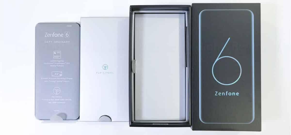 ZenFone 6開封レビュー02