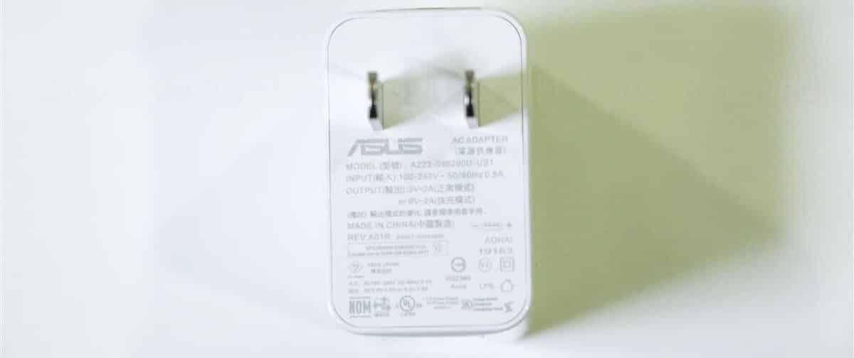 ZenFone 6 純正充電器