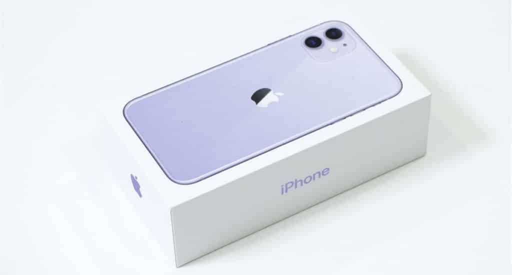 iPhone 11 パッケージ01