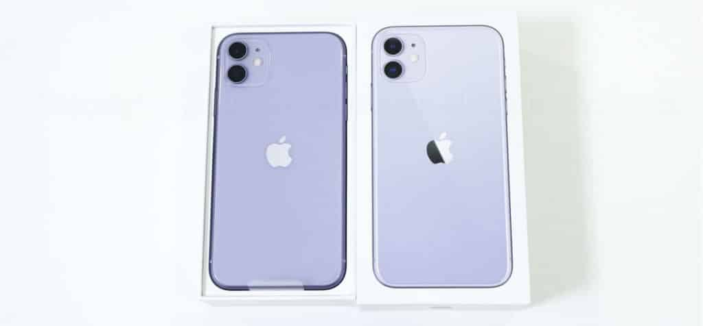 iPhone 11開封レビュー01