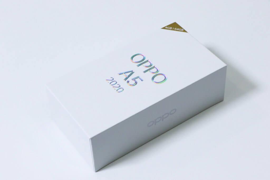 OPPO A5 2020パッケージ01