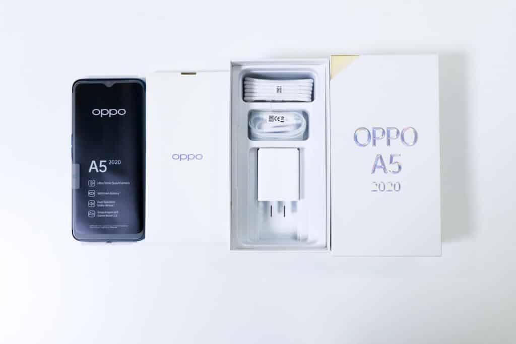 OPPO A5 2020パッケージ04