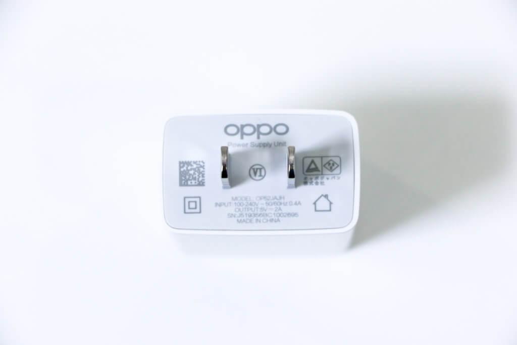 OPPO A5 2020充電器01