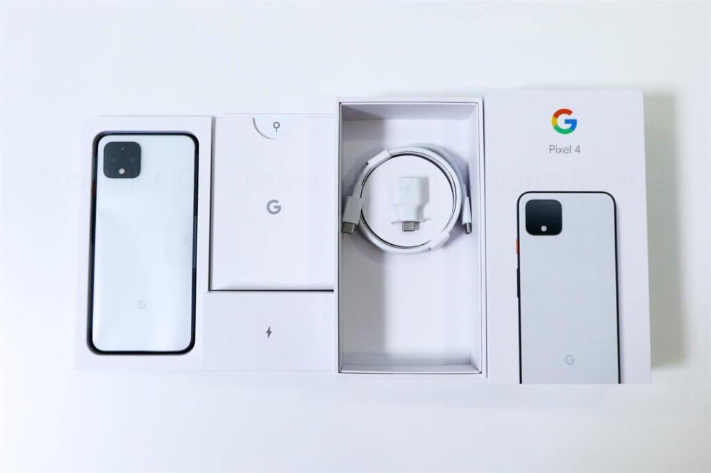 Pixel 4 付属品レビュー01